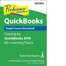 Individual Software Professor Teaches QuickBooks 2019