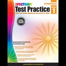 Spectrum Test Practice Workbook Grade 1