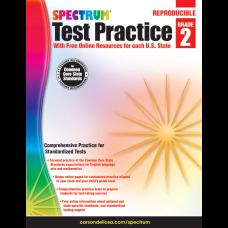 Spectrum Test Practice Workbook Grade 2
