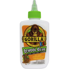 Gorilla Kids School Glue 4 oz