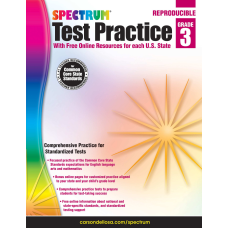 Spectrum Test Practice Workbook Grade 3