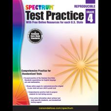 Spectrum Test Practice Workbook Grade 4
