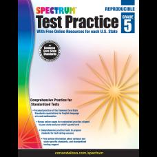 Spectrum Test Practice Workbook Grade 5
