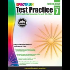 Spectrum Test Practice Workbook Grade 7