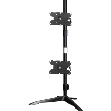 Amer Dual Monitor Stand Vertical Mount