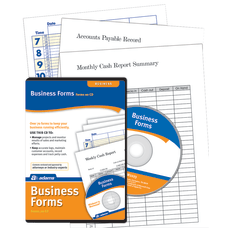 Adams Business Forms Software Disc