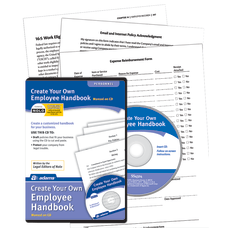 Adams Create Your Own Employee Handbook