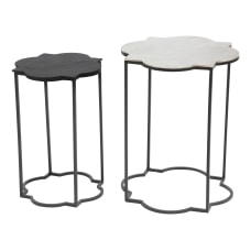 Zuo Modern Brighton Accent Tables Round