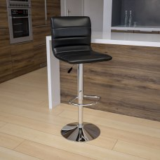Flash Furniture Contemporary Adjustable Bar Stool