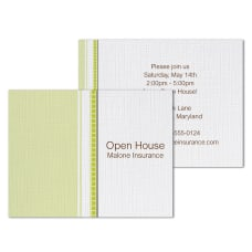 Custom Full Color Note Card Invitations
