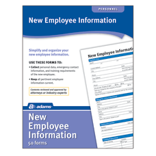 Adams New Employee Information Forms