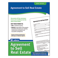 Adams Agreement To Sell Real Estate