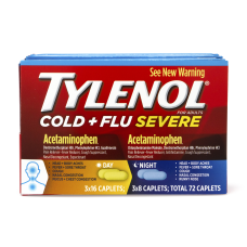 Tylenol Cold Flu Severe Day Night