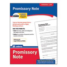 Adams Promissory Note