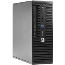 HP ProDesk 400G3 Refurbished Desktop PC