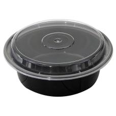 Pactiv VERSAtainer Containers 1 Qt BlackClear