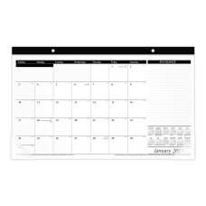 AT A GLANCE Compact Desk Pad