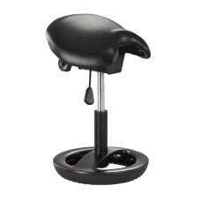 Safco Twixt Task Stool Black SeatBlack