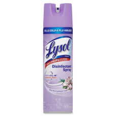 Lysol Disinfectant Aerosol Spray Early Morning