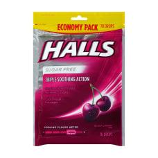 Halls Sugar Free Black Cherry Cough