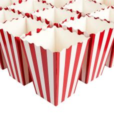 Set Of 100 Popcorn Favor Boxes