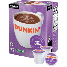Dunkin Donuts Milk Chocolate Single Serve