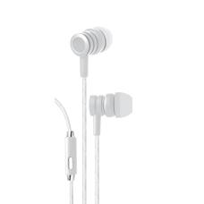 Bytech Wired Earbud Headphones White BYAUEB129WT