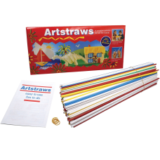 Pacon Artstraws Paper Tubes Art Project