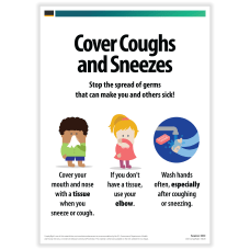 ComplyRight Cover Coughs And Sneezes Posters