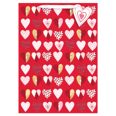 Amscan Pattern Hearts Valentines Day Extra