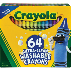 Crayola Ultra Clean Washable Crayons Assorted