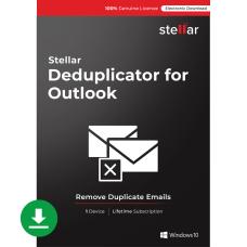 Stellar Deduplicator for Outlook Windows