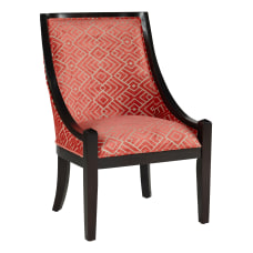 Powell Abril Accent Chair BlackCoral