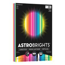 Astrobrights Color Card Stock Letter Size