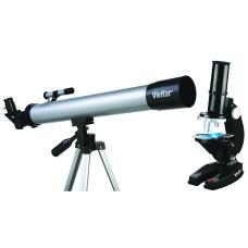 Vivitar Telescope And Microscope Combo