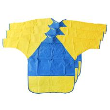 Peerless Plastics KinderMat KinderSmocks BlueYellow Pack