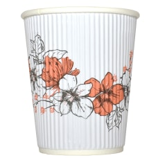 Hotel Emporium Floral Ripple Hot Cups