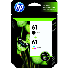 HP 61 BlackTricolor Original Ink Cartridges