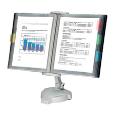 Fellowes Desktop Reference Rack Platinum