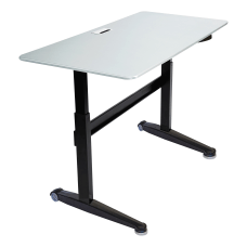 Iceberg Mobile Sit Stand Desk 59