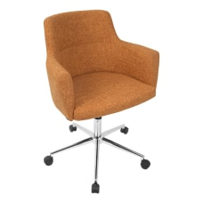 Lumisource Andrew Office Chair Orange