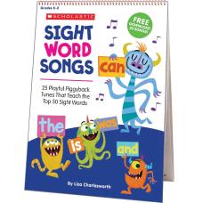 Scholastic Sight Word Songs Flip Chart