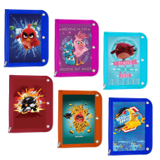 Inkology Angry Birds Binder Pencil Pouches