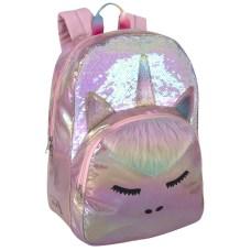 Delias VSCO Backpack Holographic Glitter Unicorn