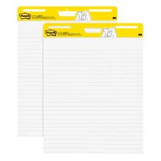 Post it Super Sticky Lined Easel