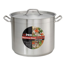 Winco Stainless Steel Stock Pot With