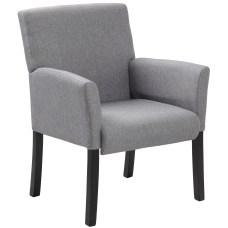 Boss Contemporary Guest Chair Medium Gray