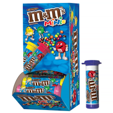 M Ms Milk Chocolate Mini Tubes