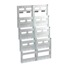 Azar Displays Wall Mount Brochure Holder