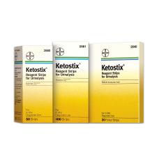 Bayer Ketostix Reagent Strips Pack Of